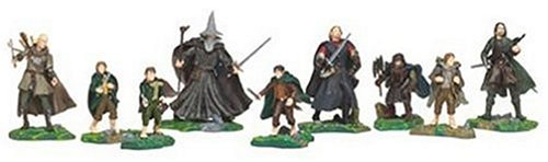 PA Distribution, Inc. Lord of The Rings Fellowship of The Ring 9-Piece Collector Set