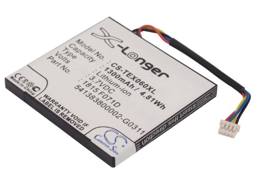Replacement 3.7L1060SP Battery for Texas Instruments TI-Nspire CX, TI-Nspire CX CAS Graphing Calculator