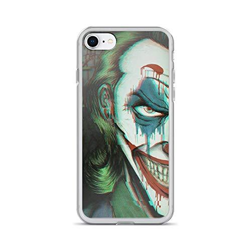 iPhone 7/8 Pure Anti-Scratch Case Joker Happy Face ()