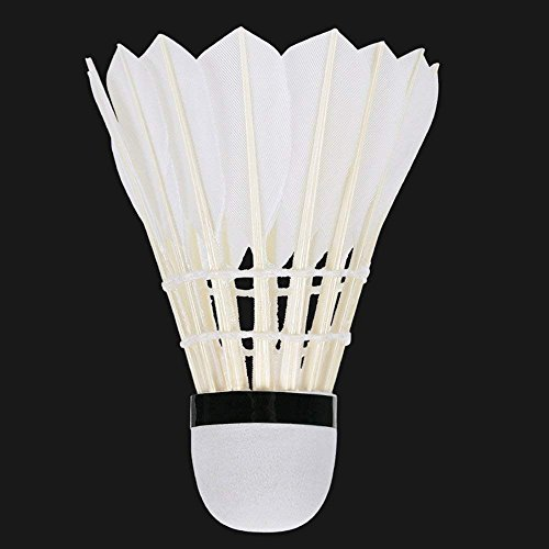 KEVENZ 48-Pack Advanced Goose Feather Badminton Shuttlecocks,Nylon Feather Shuttlecocks High Speed Badminton Birdies Balls with Great Stability and Durability (White,48-Pack) by KEVENZ (Image #8)