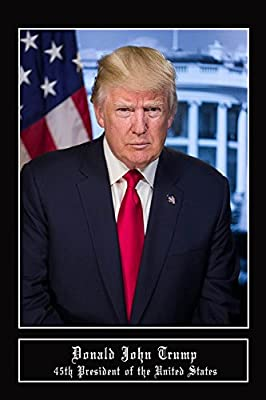 """President Donald Trump Poster President Trump Portrait (12""""x18"""") By A-ONE POSTERS"""