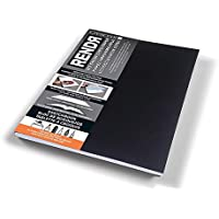 Crescent Cardboard Co RENDR Lay-Flat Soft Cover Sketchbook, 12-00019-Parent, White, 8.5-Inch by 11-Inch
