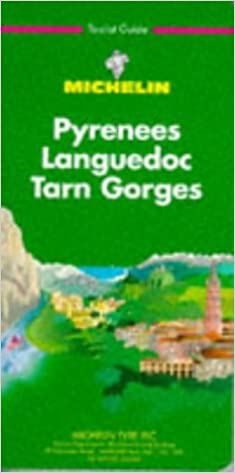 Michelin Green Guide Pyrenees Languedoc Tarn Gorges