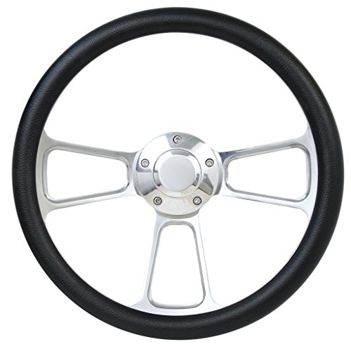 Muscle Style Wheel For 1970-1973 Chevy & GMC Trucks Full Install Kit - Plain Column Wrap