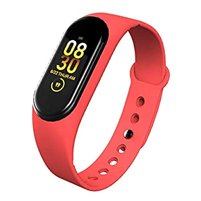 DMMDHR Smart Band Wristband Heart Rate Blood Pressure Heart Rate Monitor Pedometer Sports Bracelet Health Fitness Bracelet Estimated Price £38.20 -