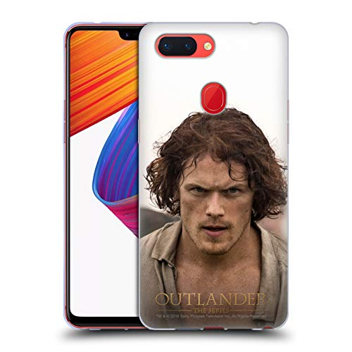 Official Outlander Jamie Rough Characters Soft Gel Case for Oppo R15