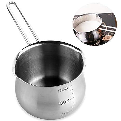 QWERTY Pan - Cazo antiadherente de acero inoxidable para ...