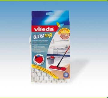 Vileda UltraMax Mop Microfibre Pad (Wet Refill) - 086609 by Vileda