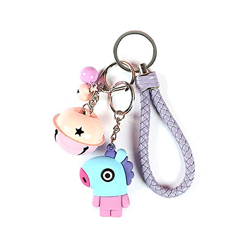 Satelliter BTS Keychain Set, Acrylic And Silicone Cute Carton Keychain, Hot Gift for ARMY(10cm H05) by Satelliter (Image #2)