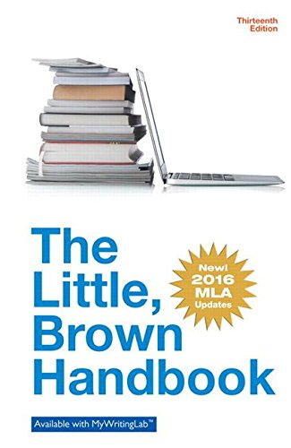 Little Brown Handbook, The, MLA Update Edition (13th Edition)