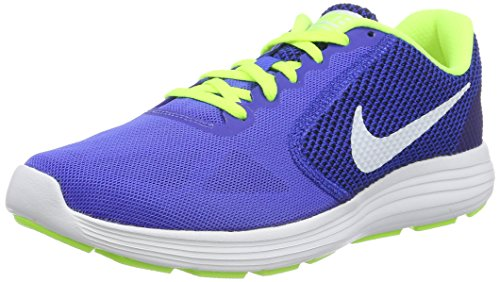 Nike Herren Revolution 3 Trainingsschuhe, Mehrfarbig (Racer Blue/White-Volt-Black),46 EU (11 UK)