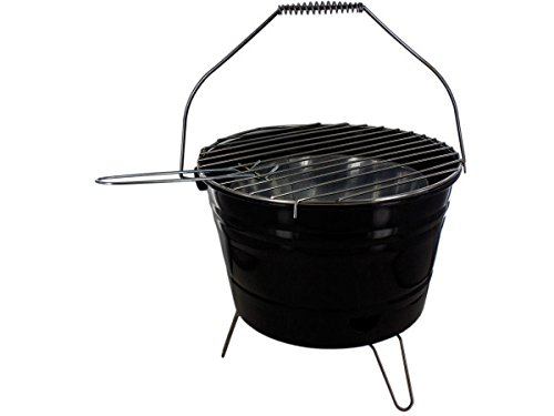 (Bar B Q Time Barbecue Bucket with Handle - Pack of)