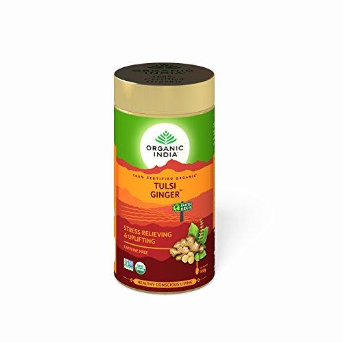 Organic India Tulsi Ginger 100 GM Tin