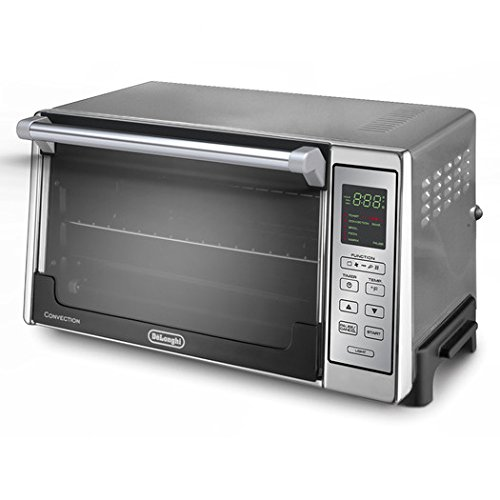 0.7-Cubic Foot Electric Non-stick Convection Oven w/ Digital Controls ,Stainless/Black DeLonghi ., Toaster And Convection Ovens