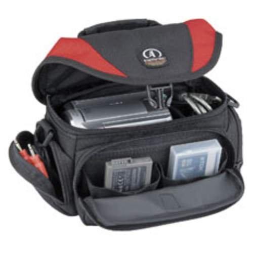 Tamrac Black Camcorder Bag (Tamrac 5522 Adventure Video Bag 2 (Red/Black))