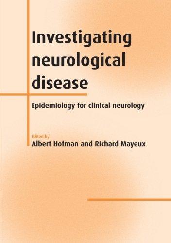 Investigating Neurological Disease  Epidemiology For Clinical Neurology