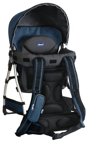 eeb70e66adc Amazon.com   Chicco Smart Support Backpack Blue Sky (Discontinued by  Manufacturer)   Child Carrier Backpacks   Baby
