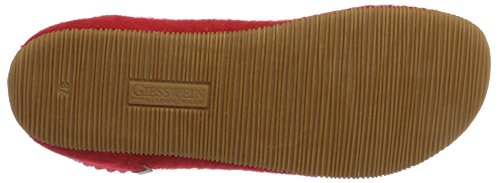 Giesswein Women's Wildpoldsried Hi-Top Slippers Red (Feuer) 90ZnUgywvL