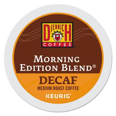 Morning Edition Decaf Coffee K-Cups, 24/Box