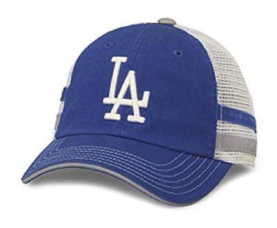 MLB American Needle Foundry Baseball Soft Mesh Back Adjustable Snapback Hat (Los Angeles Dodgers)