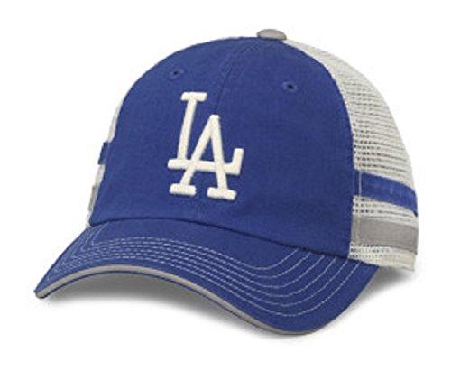2413bac9c1b MLB American Needle Foundry Baseball Soft Mesh Back Adjustable Snapback Hat  (Los Angeles Dodgers)
