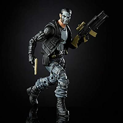 Exclusive Marvel Legends Punisher 6-Inch Action Figure: Toys & Games