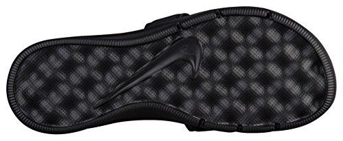 NIKE Womens Ultra Comfort Slide Sandal Black/White QHpd0