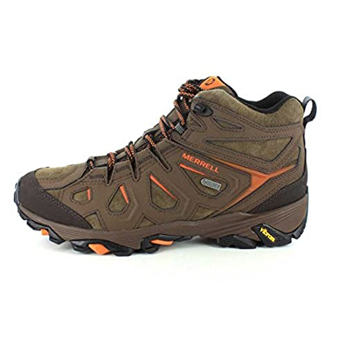 high-quality Merrell Men's Moab FST Leather Mid Waterproof Boot