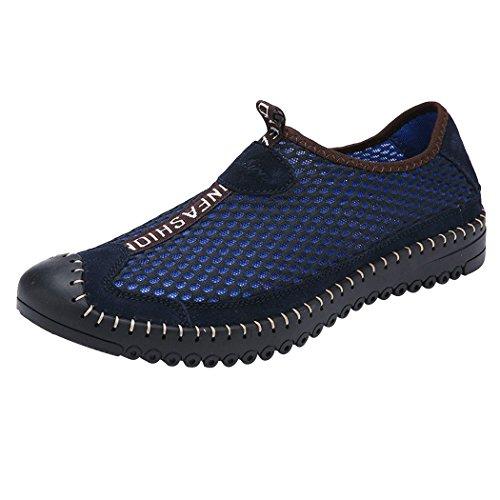 有能な布モートLANSI(レンシー)メンズ スニーカー ウオーターシューズ メッシュ 軽量 通気性 水陸両用 ビーチサンダル スリ ッポン カジュアル スポーツ 靴