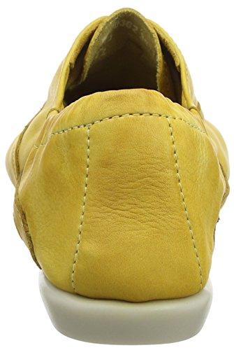Softinos Ver362sof, Bailarinas para Mujer Amarillo (Yellow)