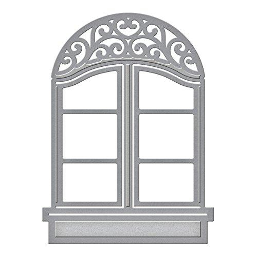 Cutting Die Systems (Spellbinders S2-016 Shapeabilities D-Lites Window 2-Die Templates)