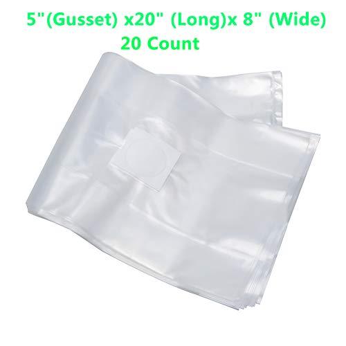 wonuu Mushroom Grow Bag,Medium Large Mushroom Spawn Bags 8