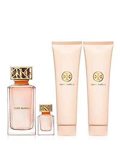 TORY BURCH 3.4 OZ EAU DE PARFUM,BODY CREAM AND SHOWER GEL GIFT SET by Tory - Tory Signature Burch