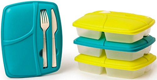 Reusable Easy Containers Storage Included Lunchbox