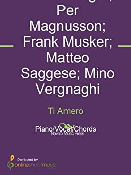 Ti amero kindle edition by david kreuger frank musker - Il divo ti amero ...