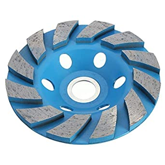 Blue 100mm Diamond Segment Grinding Cup Wheel Disc Grinder Concrete Stone