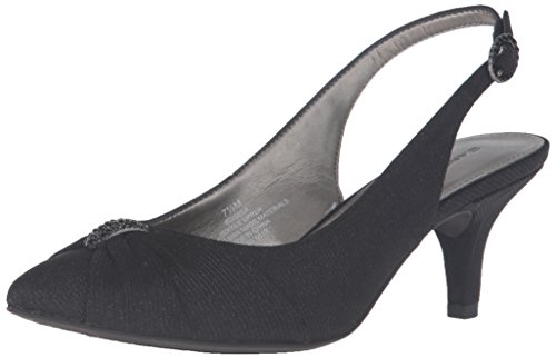 Bandolino Womens Isela Dress Pump Black Fabric VfJSF