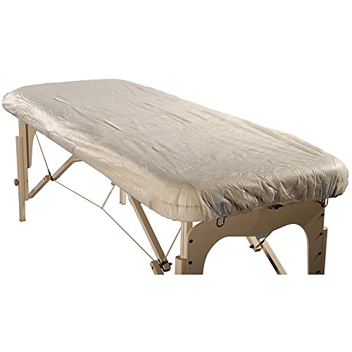Master Massage Disposable Fitted Table Sheet Cover(Pack of 10) for Massage Table