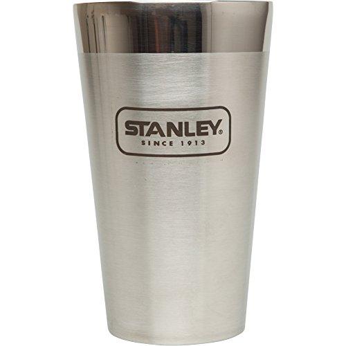 Stanley Adventure Stacking Vacuum Pint, Stainless Steel, 16 - Stanley Steel