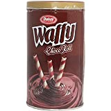 DUKES M.M Enterprise Waffy Rolls Tin Chocolate, 300gm
