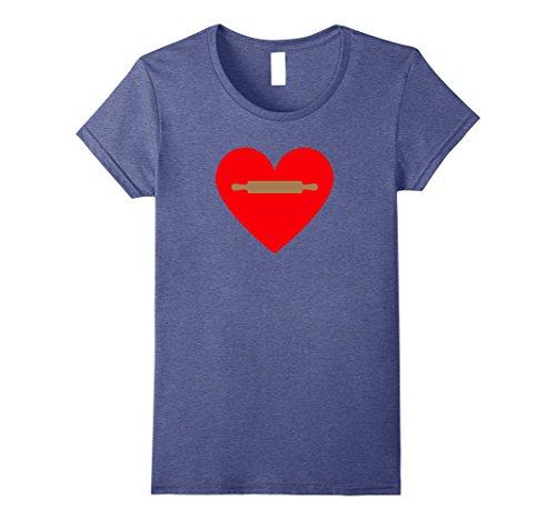 Heart T-shirt Pin - 1