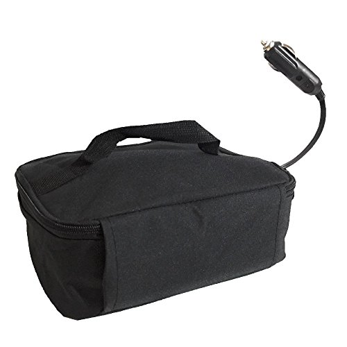 STARRYSKY Mini Portable Oven Personal Lunch-Containers Food Warmer Cooler Bag For Business Travel Camping Truckers Vegetarians Picnic Portable Oven 12V Personal Crockpot Slow Cooker - 12 Volt Oven Microwave