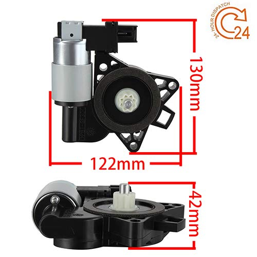 Price comparison product image 742-801 Drivers Front Power Window Lift Regulator Motor Replacement for Mazda 5 6 CX-7 CX-9 RX-8 Mazda5 Mazda6 GJ6A-59-58XF