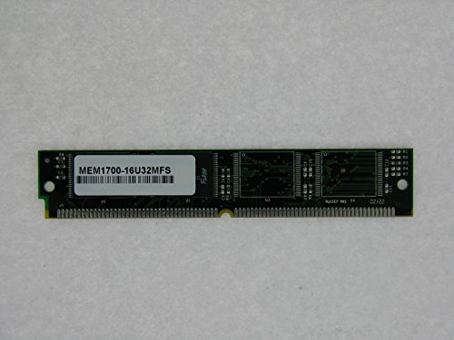 MEM1700-16U32MFS 16MB Approved 80-pin Flash Simm for Cisco Network Router 1760(MemoryMasters)