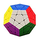 JIAAE Dodecahedron Tank Rubik's Cube Professional Competition Smooth Rubik Children Puzzle No Fading Allotype Cube Toy
