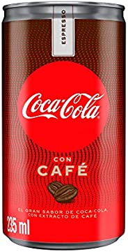 Coca-Cola con Café, 8 Pack - 235 ml/lata