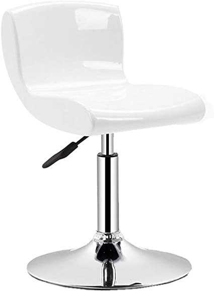 Tiua Bar Stool Swivel Chair Office Chair Desk Chairs Barstool Height Office Swivel Chair Bar Stools Counter Height Adjustable Bar Chairs Swivel Stool With Backrest 4 Colors Color White Amazon Co Uk Kitchen