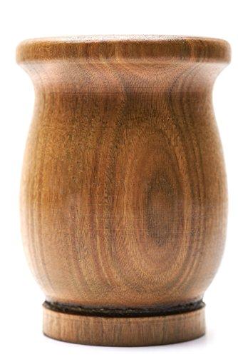 Mate set - wood gourd with straw (Bombilla) (palo santo wood)