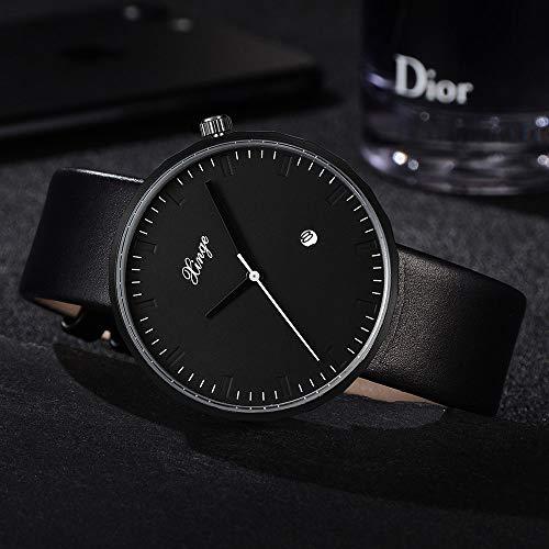 (Men Simple Quartz Analog Watch Band Wrist Watches)