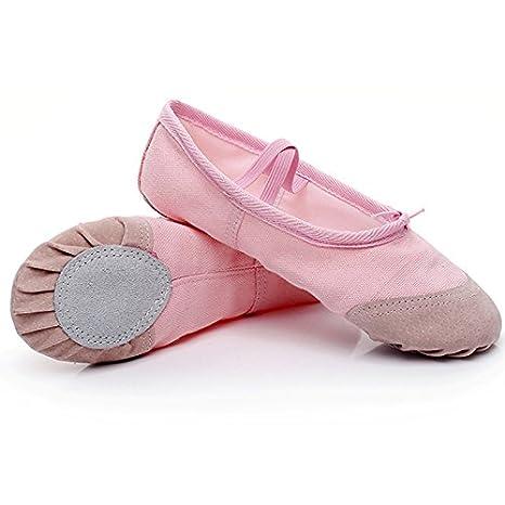 9ebabef8abe2c Chaussures de danse pour danse classique Chaussures de Pointe pour fille enfants  chaussures pour enfants Chaussures
